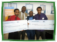 Michias Zewdu, James Proctor, Frank Jones, Matheos Mesfin